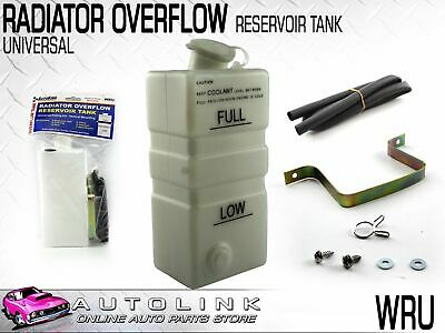Universal Radiator Overflow / Coolant Bottle - Vertical Mounting With Bracket