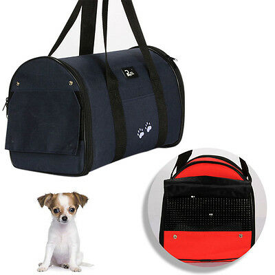 Pet Dog Carrier Portable Handbag Travel Puppy Cat Comfort Case Cage Tent Kennel