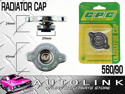 Radiator Cap Small 13 Psi 90 Kpa Recovery Suit Nissan Patrol Y60 Gq 4.2L Tb42E