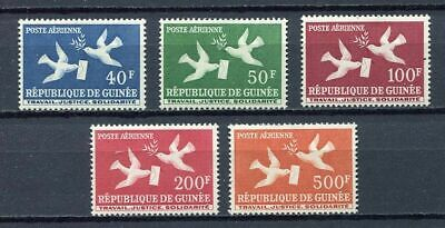 27396) GUINEA 1959 MNH** Nuovi** Doves with letter 5v - AM