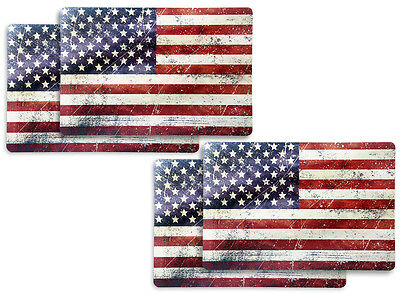 "Tischset ""US-Flagge"" 4-er Set ""Stars & Stripes"""