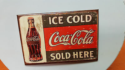Coca Cola Sold Here Refrigerator Magnet 1916 Style