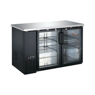 UBB-24-60G Glass Door Back Bar Cooler ( Free Shipping )
