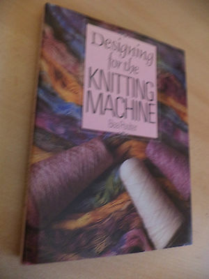 Designing For Knitting Machine Crafts Old Vintage 1980S Pattern Book Bea Poulter