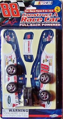 NASCAR #88 Dale Jr: Construct A Race Car (Blue National Guard Sponsor) - NEW!