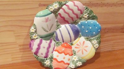 FITZ AND FLOYDS EASTER CHICKS and EGGS CANOPE PLATE