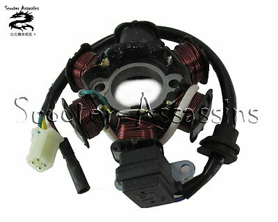 NEW STATOR / GENERATOR / MAGNETO for SYM Mio 50, BOLWELL Mio 50 31120-A1A-002
