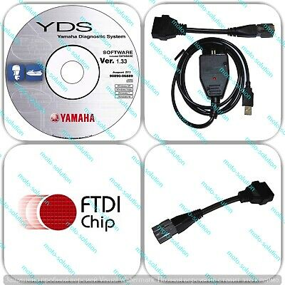 High Quality YDS Diagnostic cable set for Yamaha Outboard / WaveRunner  Jet Boat