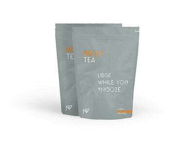 Nudey Tea 28 Day Bedtime  Detox Tea, Slimming Tea, Weight Loss, Cleanse