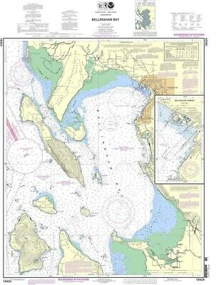 NOAA Nautical Chart 18424: Bellingham Bay;Bellingham Harbor