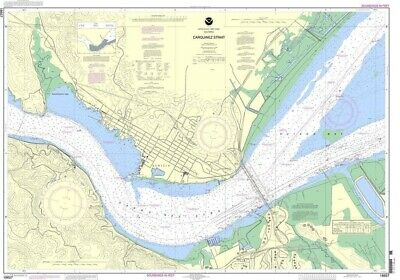 NOAA Nautical Chart 18657: Carquinez Strait