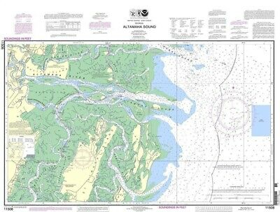 NOAA Nautical Chart 11508: Altamaha Sound
