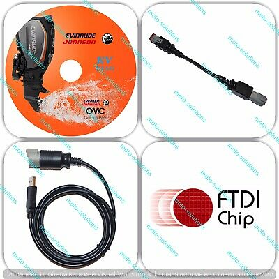 HQ Evinrude Diagnostic tool USB KIT plus Bootstrap tool (E-tec/Ficht)