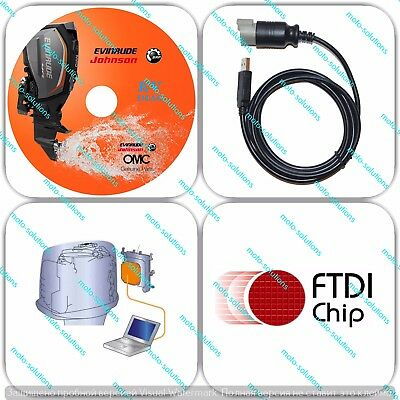 Diagnostic tool  KIT Chip FTDI FT232RL For Evinrude E-tec Ficht Outboard Boat