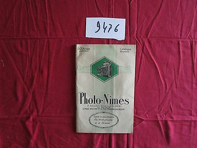 N°9476  / catalogue photo-nimes tout ce qui concerne la photographie et cinema