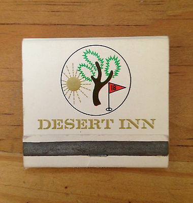 MATCHBOOK - DESERT INN AND COUNTRY CLUB - Las Vegas, NV  (1330)