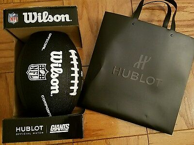 Hublot Wilson NY Giants Black Football Composite Official Victor Cruz Limited Ed