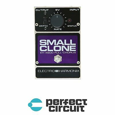 Electro-Harmonix Small Clone Analog Chorus Pedal EFFECTS NEW - PERFECT CIRCUIT