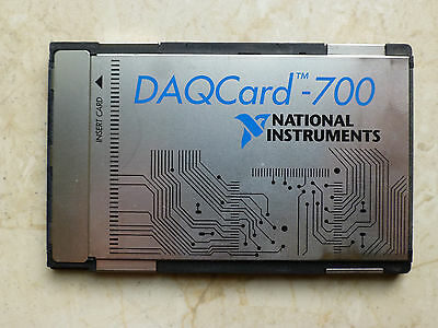 National Instruments DAQCard-700 NI DAQ Card PCMCIA Analog Input Multifunction