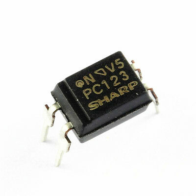 5/10/2030/50/100 Pcs PC123 Triac Driver IC Optoisolator Photocoupler Optocoupler