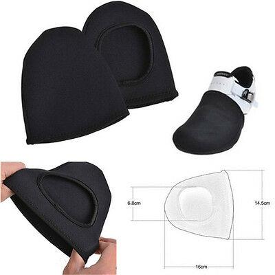 2pcs Outdoor Cycling Bike Bicycle Shoe Toe Cover Protector Overshoes Warmer New
