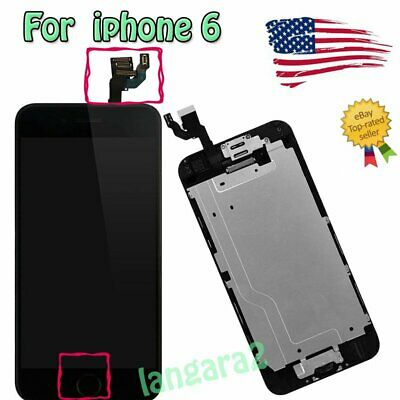 """For 4.7"""" IPhone 6 LCD Screen Replacement Digitizer Touch Full Assembly Display"""