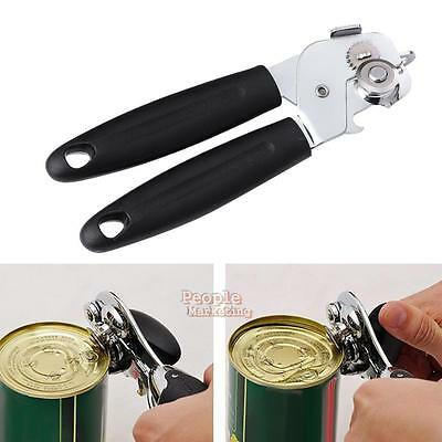 Stainless Steel Kitchen Restaurant Craft Strong Heavy Duty Chrome Can Tin Opener