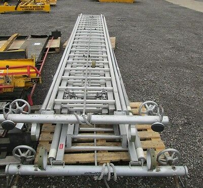 Ex Fire and Rescue 3 Tier Extension Ladder 13.5 Meters