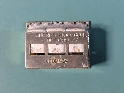 Lot Of (10) New Comnav 3Bcr6B-2100/60-L, 2100 Mhz , 3 Pole Bandpass Filter