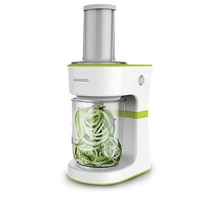 Kenwood FGP200WG Electric Spiralizer 0.5L Stainless Steel Blade