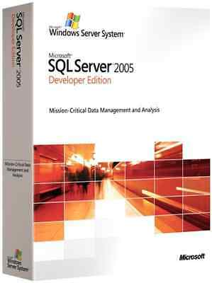 Microsoft SQL Server 2005 Developer Edition