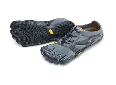 Shoes Outdoor Trekking Lifestyle VIBRAM FIVEFINGERS KSO EVO Gray Black