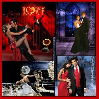Digital Photography Backgrounds Backdrops Dance  High School Senior Prom Sets