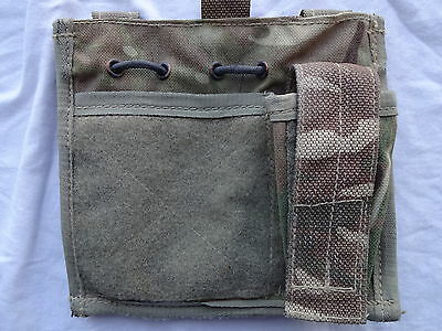 British Army Osprey MK4 COMMANDERS / ADMIN Pouch - MTP - Grade 2 - USED