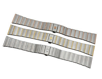 Solid Steel Strap Bracelet Replacement Watch Strap Band For Omega Constellation