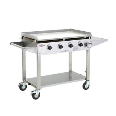 New BeefEater Clubman Stainless Steel 4 Burner Barbeque, 5mm BBQ Plate, Quartz I
