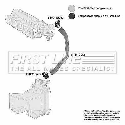 FIRSTLINE FTH1002 TURBO HOSE fit Alfa Romeo 147 1.9 JTD