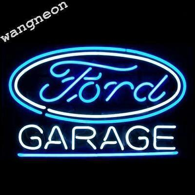 New Ford Garage Car Man Cave Neon Sign Beer Bar Pub Light FAST FREE SHIPPING