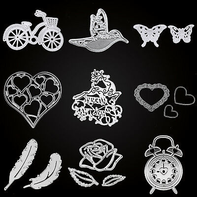 Metal Cutting Dies Stencils DIY Scrapbooking Album Paper Card Embossing Machine