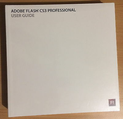 ADOBE FLASH CS 3 Professional User Guide Sealed 2007