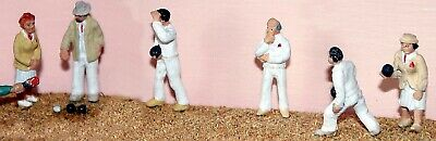 OO Scale Model Kits 1:76 Assorted Lawn Bowls Teams Unpainted F168