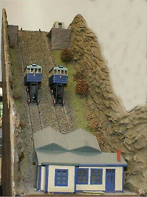 N Scale Unpainted Langley Models Kit Cliff Railway & Motorizing Kit A51