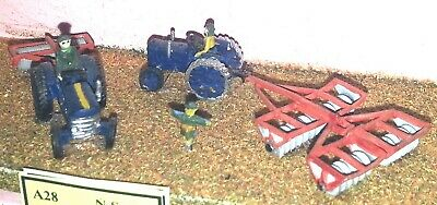 N Scale Unpainted Model Kit Period Farm machinery ground preparation A28