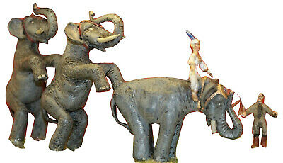 OO Scale Unpainted Models Kit Circus Standing Elephant Act & trainer CIR2
