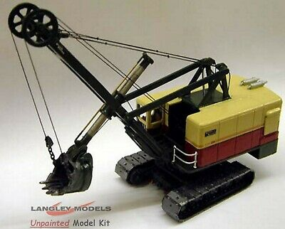 OO Scale Unpainted Models Kit Ruston Bucyrus 110RB Face Shovel RW21