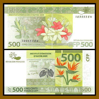 French Pacific 500 Francs, 2014 P-New Unc