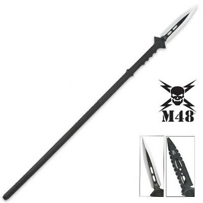 New M48 Kommando Tactical Survival Spear With Sheath By United Cutlery UC2961