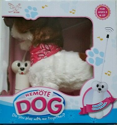 Kids Puppy Toys Pet  Remote Control Dog Christmas Gift