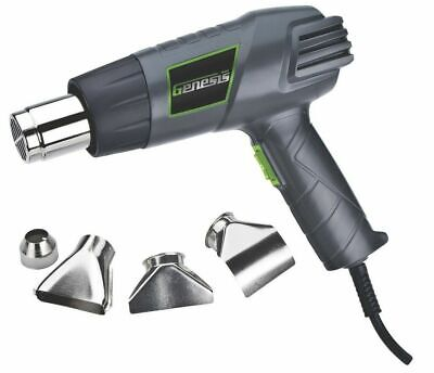 Richpower Genesis GHG1500A Dual Temperature Heat Gun Kit with Accessories 120 V