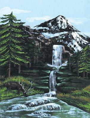 NEW Royal & Langnickel Painting by Numbers Artist Canvas Series Mountain ...